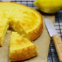 Moelleux au citron facile au thermomix