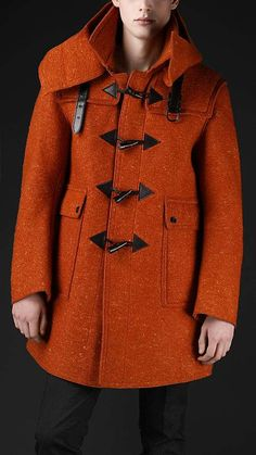 The Burberry Duffle Coat is Designed for Men and Cold Weathers #winter #jackets trendhunter.com