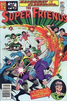 THE SUPER FRIENDS 4 DC COMICS