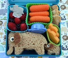 Beautiful food ideas for kids that may encourage picky eaters to try new, healthier foods. baby shower pacifiers homemade baby food Cheesy b. Bento Box Lunch, Lunch Snacks, Kid Snacks, Toddler Meals, Kids Meals, Cute Food, Good Food, Boite A Lunch, Little Lunch