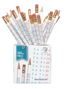 O lápis proibidão: lembra dos que vinham com a tabuada? | 48 materiais escolares que vão fazer você viajar no tempo