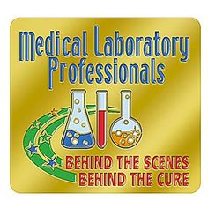 Medical Laboratory Professionals Behind The Scene Behind The Cure Lapel Pin with Card  Item # LP1113L