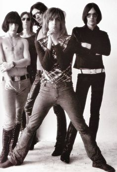 The Stooges photographed by Peter Hujar, 1971.
