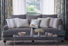 Tecidos Sanderson, colecção Brianza. À venda na Nova Decorativa! #decoração #tecidos #homedecor #fabrics #Sanderson