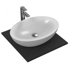 Chiuveta baie Lavoar Ideal Standard Strada 60x42cm fara orificiu baterie fara preaplin montare pe blat - un model special de chiuveta pentru baie, de o eleganta iesita din comun. #chiuvete #chiuvetebaie #DecoStores #amenajariinterioare #homedecor #obiectesanitare #obiectesanitarebaie #bathroomsink