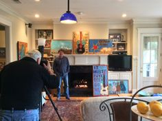 Photo shoot for 'At Home Memphis'