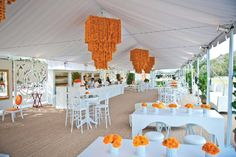 "BrownHot Events used Signature Systems Group's ""Seagrass"" sisal carpet at the tent for Veuve Clicquot's Polo Classic event in October."