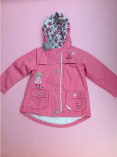 Next Girls Pink Character Jacket Bunny Mouse new A/W 2014 Age 5/6 years Coat