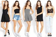 Which #NotSoBasic look is your fave? #MustHave OOTD #F21