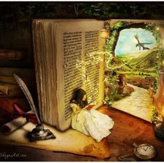 to read is to dream with your eyes wide open
