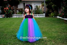 Peacock Inspired Tutu Dress Series I by giselleboutique on Etsy, $70.00