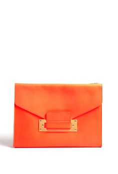 I am blown away with Sophie Hulme bags. I was lucky enough to get a leather envelope clutch bag for my birthday and I haven't used another bag since.
