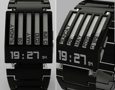 Wristwatch With High Technology Using Ink for Telling Time