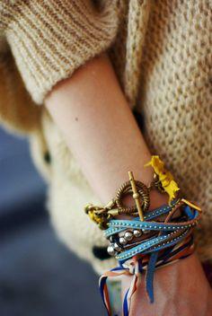 Cape Cod Collegiate - Coastal Style - bracelets