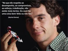 Ayrton Senna - Just do it Badass Quotes, Best Quotes, Favorite Quotes, Garra, Pencil And Paper, Magic Words, Thought Of The Day, Note To Self, Movie Quotes
