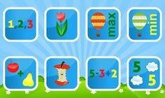 ANDROID i IOS. GRATIS. Kids Numbers and Math Lite. Aplicació per aprendre a comptar, sumar i restar.
