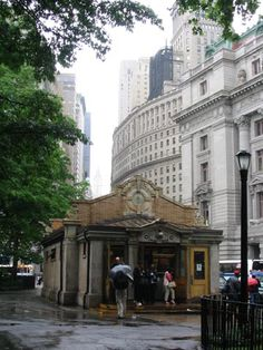 Subway Entrance, Battery Park, Lower Manhattan
