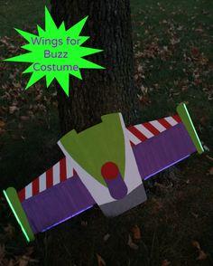 glowing buzz lightyear wings for halloween