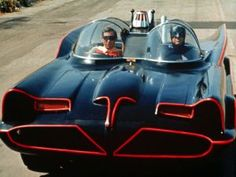 1966 Batmobile   Top Cars from Movies and TV Batman Tv Show, Batman Tv Series, Batman 1966, Batman Robin, Batman Car, Original Batmobile, Superhero Bathroom, John Hill, Burt Ward