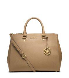 b23703a98a12 Sutton Saffiano Leather Large Satchel. Michael Kors ToteHandbags ...