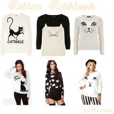 Feline Fashion Sweaters