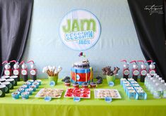 Music Themed Birthday Party Supplies | ... : real parties | Jammin' with Jack Birthday Party • Intrigue Design
