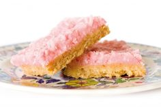 """This pretty pink slice is an old favourite that is a great recipe to make with children who enjoy baking."" - Annabel Langbein"
