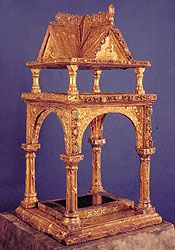 Bild: Kleines Altarciborium König Arnulfs von Kärnten