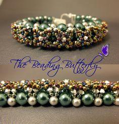 bead netting | Bead Netting Bracelet