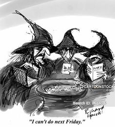 3 Witches Cartoons and Comics - funny pictures from CartoonStock
