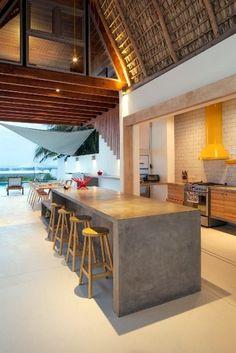 Une cabane de plage de luxe par Cincopatasalgato