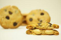 A culpa é das bolachas!: Bolachas de Amendoim com Pepitas de Chocolate