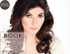 Book Fariha Pervez From Artistebooking.com. #FarihaPervez #artistebooking #Singer. For More Details Visite : artistebooking.com Or Call : 011-40016001