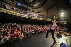 Hunter Hayes -- an American country music superstar -- performs live to a crowd of screaming fans at The Palace Theatre Stamford in 2014!