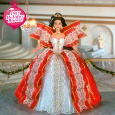 1997 Happy Holidays Barbie