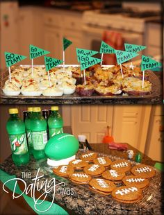 Football date/party (eat classic football food and go to a HS football game, could work with a College game too)
