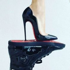buonagiornatta !!!!! #louboutin #fashion #shoes #top #style