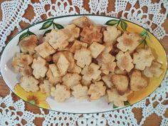 Füstölt sajtos kréker Potato Salad, Potatoes, Ethnic Recipes, Food, Eten, Potato, Meals, Diet
