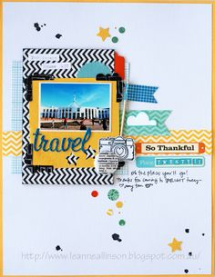 #papercraft #scrapbook #layout.  ...Our Little Family...: Amy Tangerine...