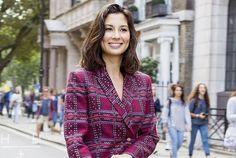 Evening Standard – Dressing Up With London Foodie Jasmine Hemsley Jasmine Hemsley, Hemsley And Hemsley, Hair Inspiration, Dress Up, Hair Beauty, Leather Jacket, London, Cambridge, Meet