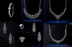 Manubhai Jewellers, Delicate Jewelry, Diamond Jewellery, Jewelry Patterns, Jewelry Collection, Pearl Necklace, Jewelry Design, Jewels, Pendant