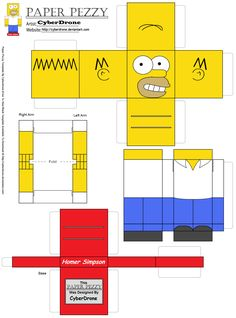 paper_pezzy__homer_simpson_by_cyberdrone-d4uht39.png (1304×1760)