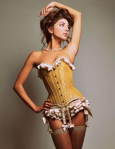 Sasha ruffled panties - silk lingerie panty. $248.00, via Etsy.
