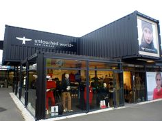 shipping container store - Google Search