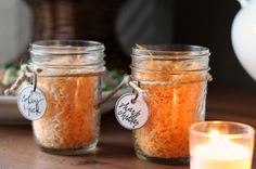mason jars of cheese for chili bar- Talk of the House Chili Party, Chili Cook Off, Baby Shower Fall, Housewarming Party, Perfect Party, Decoration, Party Time, First Birthdays, Halloween Party