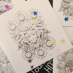 Colouring Card - Joy & Tranquility Combo 5 for 4