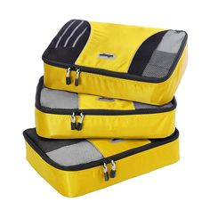 eBags® Medium Packing Cubes 3-piece Set -