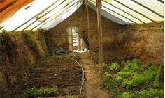 Postavte si podzemní skleník za méně než 5 tisíc na celoroční zahradnictví