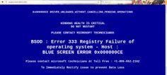 http://fr.cleanpcmalware.com/2016/02/01/supprimer-bluescreen-alert-info Supprimer Bluescreen-alert.info : Processus de désinstallation complète – Nettoyer Logiciels Malveillants PC