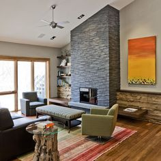 Cool Mid Century Modern Fireplace Design Pictures Best Ideas